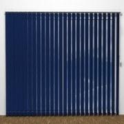 Lamellgardin - LUX Blå - G1006
